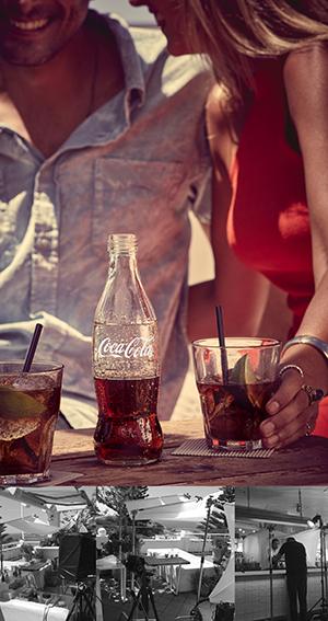 Sydney beverage photographer shoots for Coca-Cola