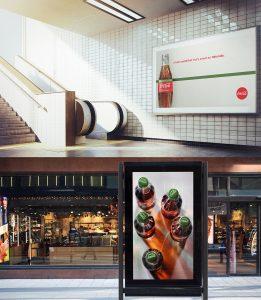 Sydney beverage photographer work for Coca-Cola